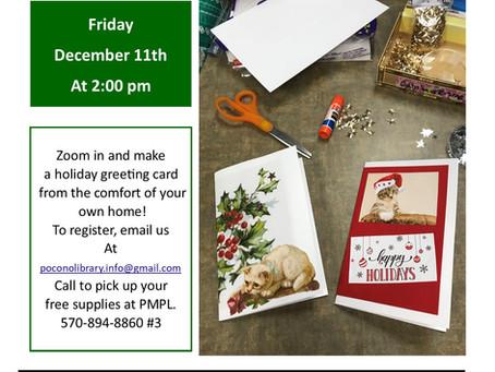 Holiday Card Craft - Go Bag