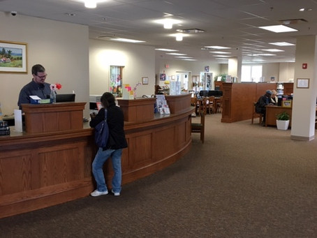 Help Wanted!  Part-Time at Main Desk