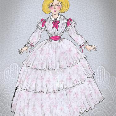 Dora Costume Rendering