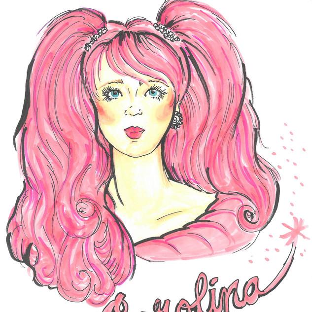 Makeup and Hair Concept - Carolina