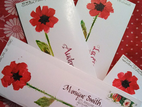 Poppies in the Mail