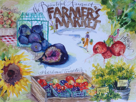 The Bountiful August Farmer's Market