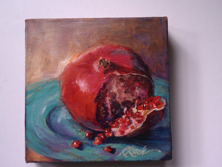 Pomegranate For A House !