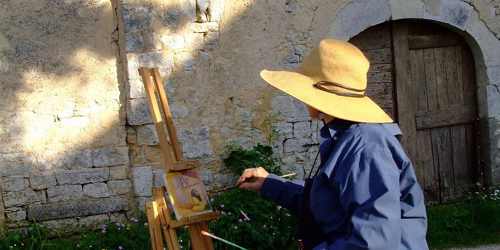 Painting Holiday in France 2021