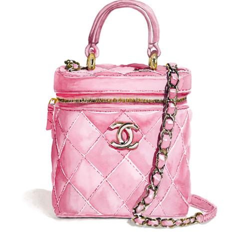 pink chanel bag