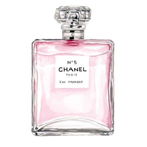 pink chanel perfume