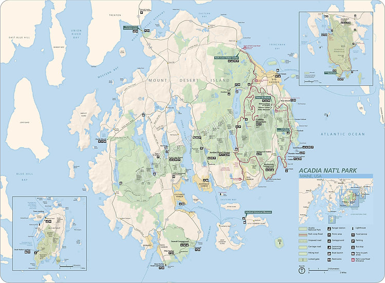 'Acadia National Park' Placemat
