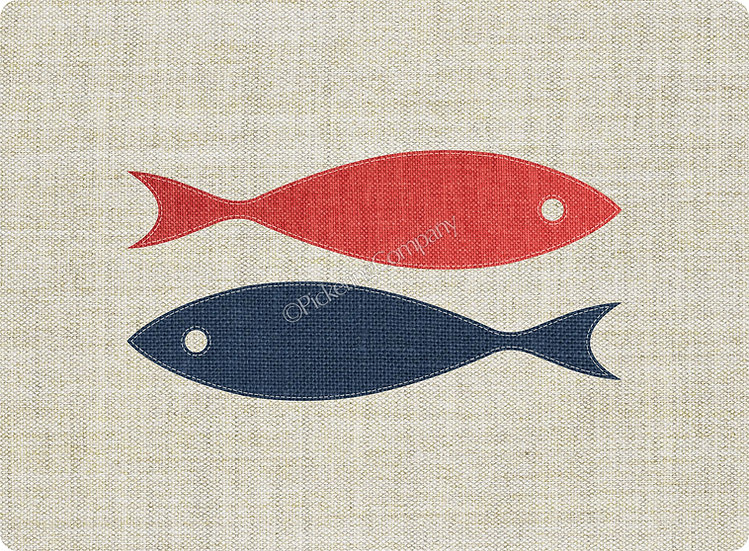 'Two Fish' Pickering Collection Placemat