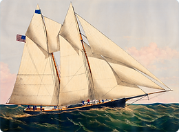 Currier & Ives Ships