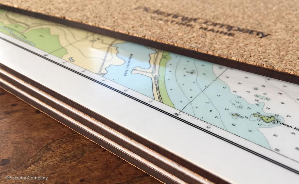 Pickering Company cork-backed hardboard placemats