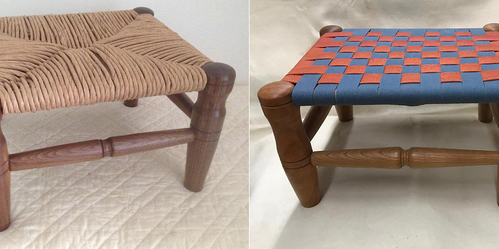 Make Your Own Shaker Footstool