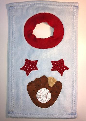 Baseball Glove Bib