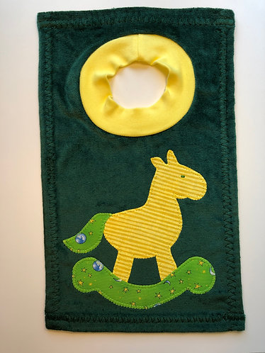 Rocking Horse Bib