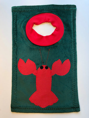Christmas Lobster Bib
