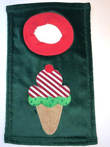 Peppermint Ice Cream Bib