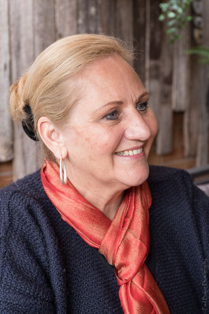 Mary Lyons-Buckett. Photo by Paul Baker.