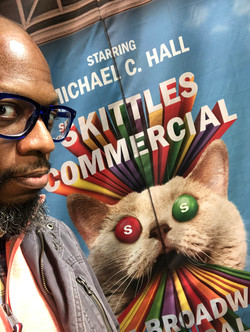 Sunday in the theatre with Skittles