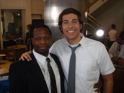 Melvin with Zach Levi