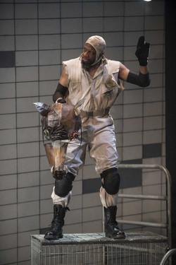 Melvin Abston as Napoleon