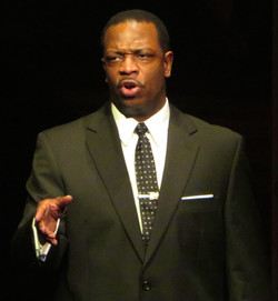 Melvin Abston as MLK
