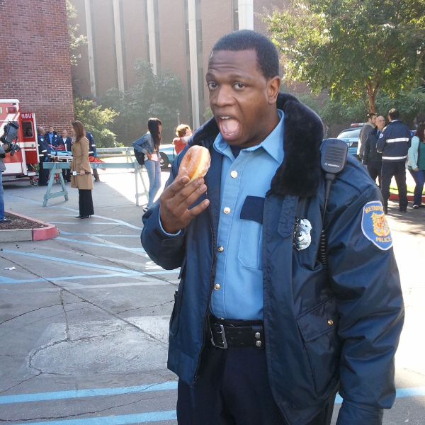 Melvin as Officer Murphy
