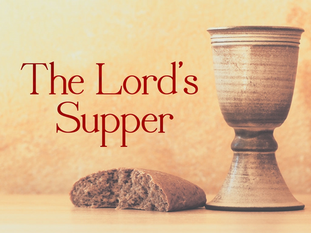 The Lord's Supper: Questions of Examination