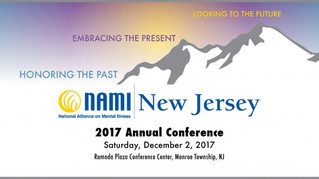 NAMI - NJ Annual Conference on 12/2/17