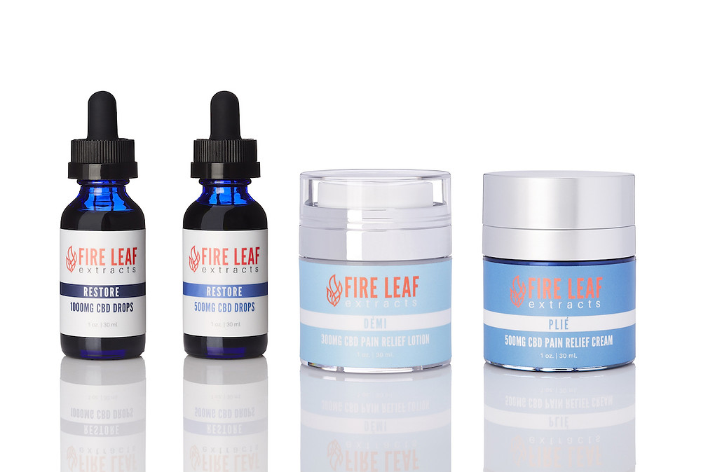 Fire Leaf Extracts CBD Wellness Products for Dancers