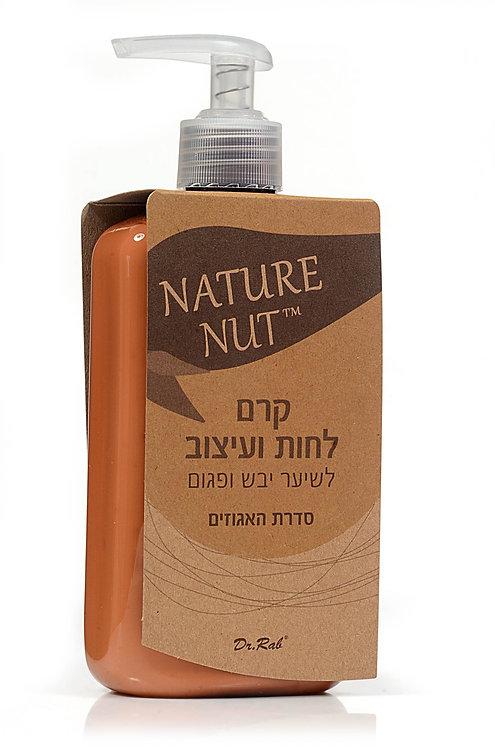 קרם לחות ועיצוב לשיער יבש ופגום NATURE NUT