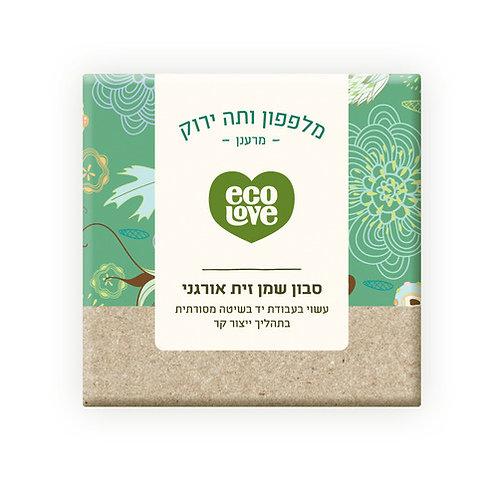 סבון מלפפון ותה ירוק ecoLove