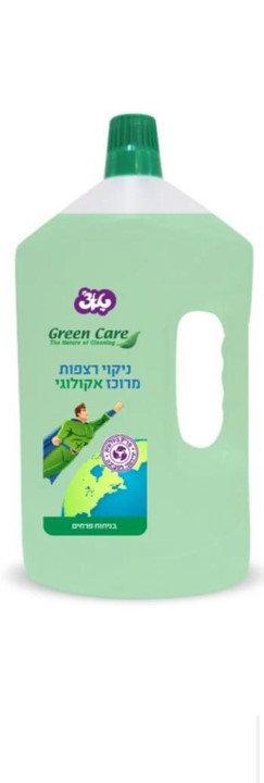 נוזל רצפות פרחים אקולוגי Green Care