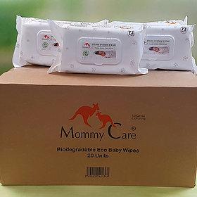 מאמי קר קרטון מגבונים 20 יחידות Mommy Care