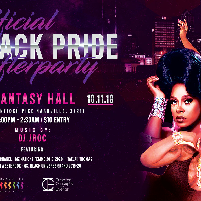 Official Black Pride Afterparty