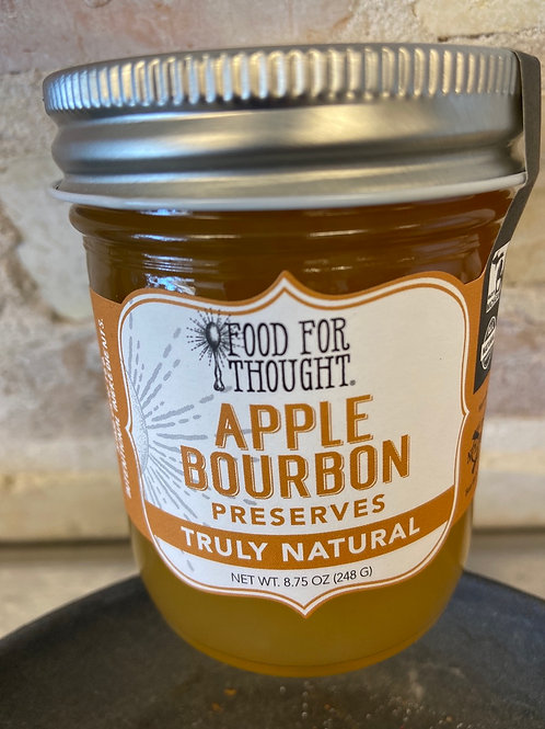Food For Thought Apple Bourbon Preserves