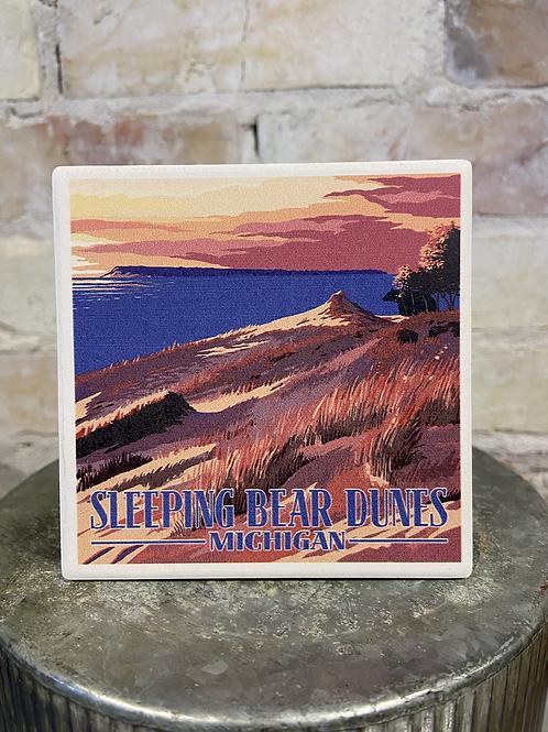 Sleeping 💤 Bear Dunes Sunset View