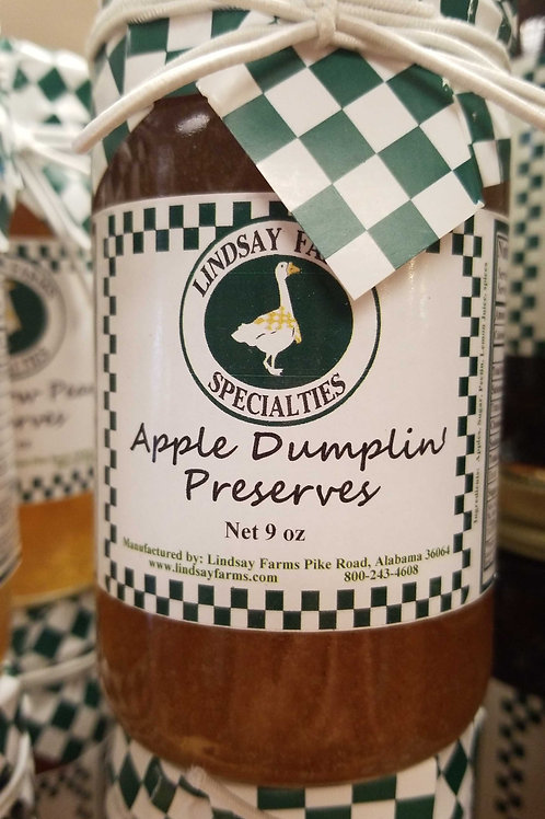 Lindsay farms: apple dumplin preserves
