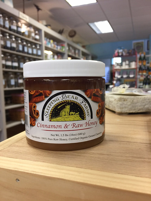 Sleeping Bear Farms - Cinnamon & Raw Honey