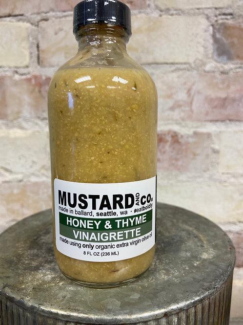 MUSTARD and co. Honey & Thyme Vinaigrette