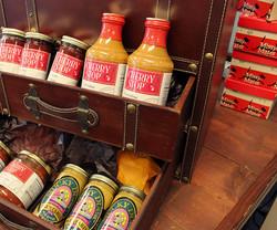 A case full of mustards!