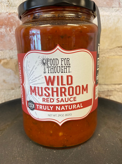 Food For Thought Wild Mushroom Re Sauce