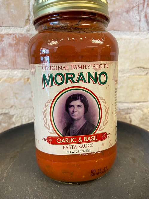 Morano Garlic Basil Pasta Sauce