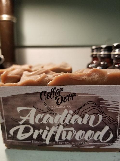 Cellar Door soap. Acadian driftwood