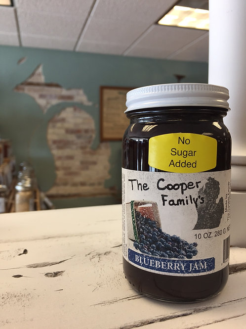 The Cooper Family - Blueberry Jam (No Sugar Added)