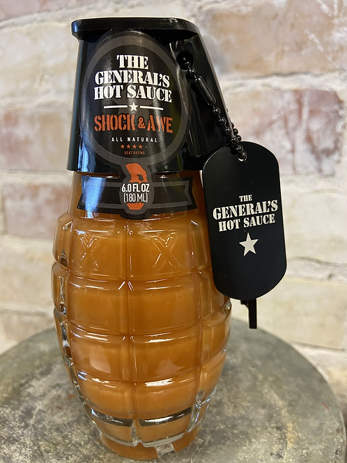 Shock and Awe Hot Sauce from The General