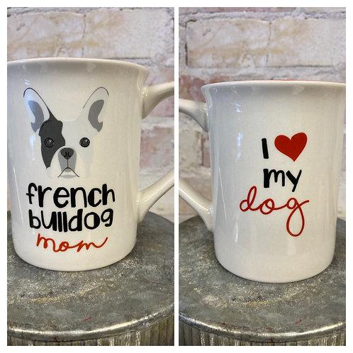French Bullie coffee mug