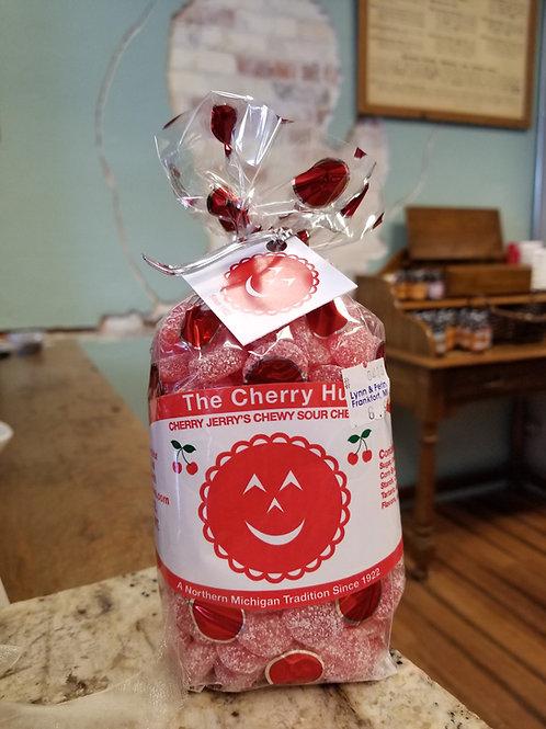 🍒 cherry hut: cherry jerrys sour chewy cherries.