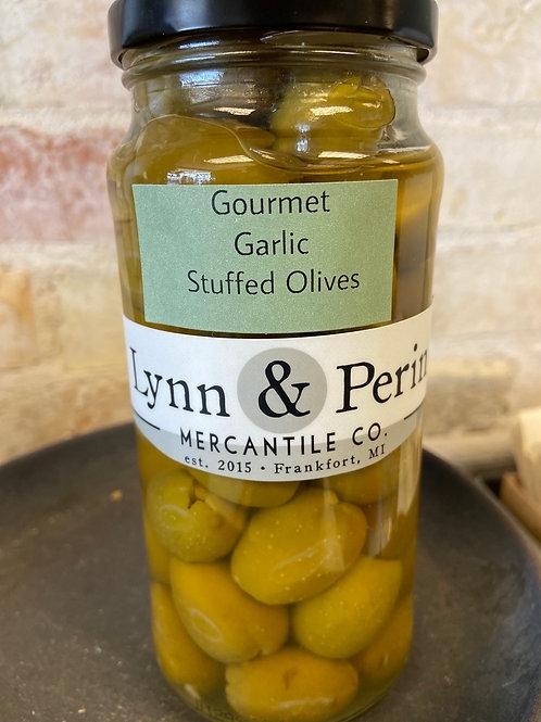 Made for Lynn & Perin Garlic Stuffed Olives