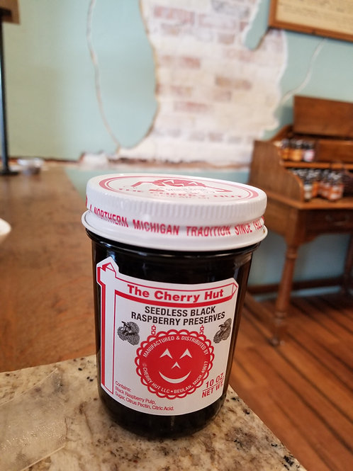 🍒 Cherry Hut: seedless black raspberry preserve