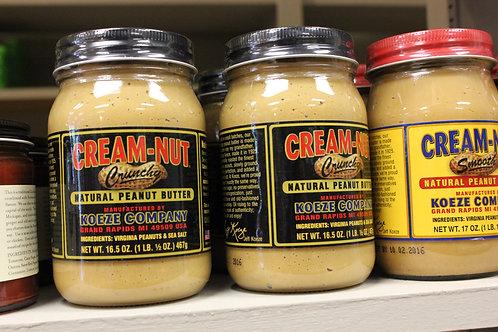 Koeze Company - Creme Nut, Crunchy Peanut Butter