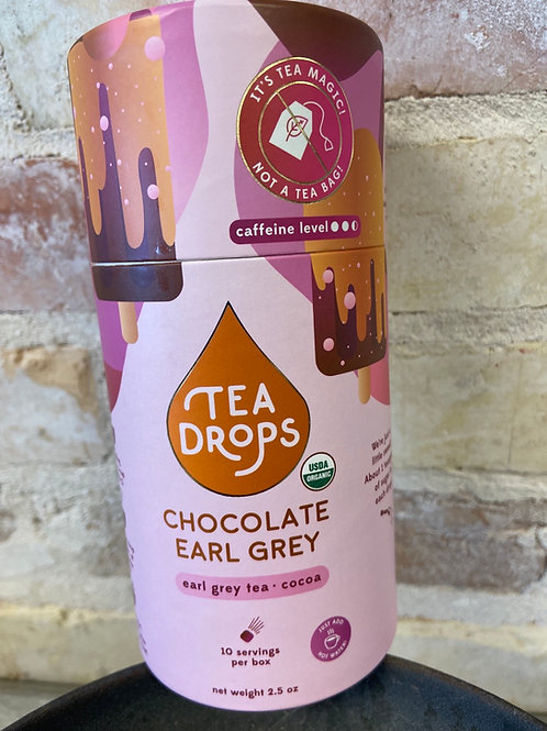 Tea Drops Chocolate Earl Grey